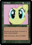 MLP-MTG: The stare by Shirlendra