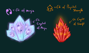 Chi Crystal concepts by CrispyCh0colate