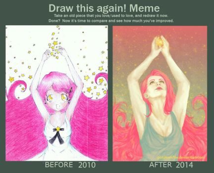 Draw This Again! - Dream Catcher by potatoesftw