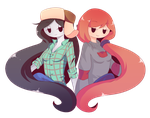 ATxGF: Marcy and Wendy by piketta