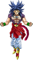 Broly Ssj4 Copia by theothersmen