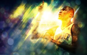 Kevin Durant 'God's Gift' Wallpaper by rhurst