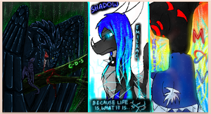 dragons on iscribble by Minerea