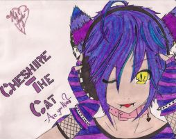 Cheshire The Cat by E13MilitaryDog