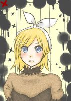Kagamine Rin - Servant of Evil by TheFrozenDream