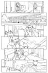 CHARMED11 page01 Pencils by Elisa-Feliz