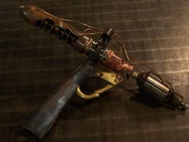 Steampunk Raygun Ray Gun by BrazenDevice