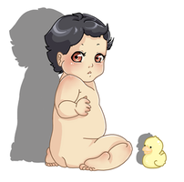 Baby Duck by Wacoon