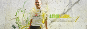 Aaron Lennon - Soccer Sign by maxzon