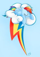 Rainbow Dash by Pearlie-pie