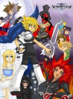 Kingdom Hearts - Six Days by enidfreyr