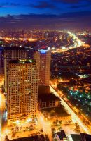 ortigas nightscape 4 by kjaex