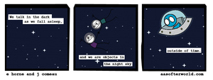 A Softer World / ExplodingDog meme mash-up by xxtayce