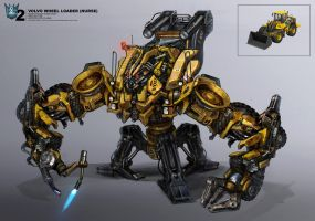 Transformers 2 Concept by waza8i