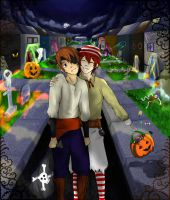 SBxSC: Happy Halloween 2011 by MoPotter