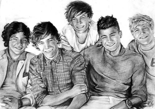 One Direction 3 by Csillipepper