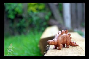 Stegosaurus by Copperoxides