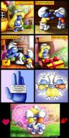 How To Cheer Smurfette Up by SuperSmurgger