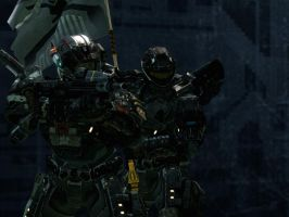 Halo Reach: Army Of Two by purpledragon104
