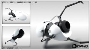 Handheld Portal Device by apach3