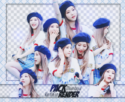 [PACK RENDER #53] 11 PNGS MOONBYUL - MAMAMOO by RinYHEnt