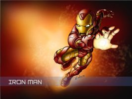 iron man wallpaper by LOLONGX