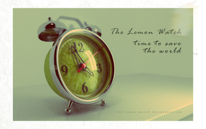 The Lemon Watch - 3D Retro by THE-LEMON-WATCH
