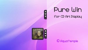 Pure Win for CD Art Display by AquaTemple