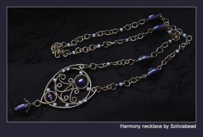 Harmony necklace by bodaszilvia
