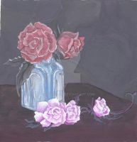 Roses by llangl00