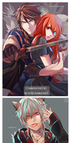 Full Color Commissions 2014-2015 by ahoguu