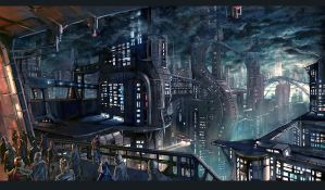 Dark City by Audic