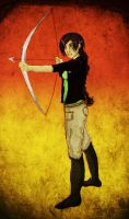Katniss Everdeen by trishna87