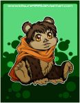 +Chibi Ewok - Commission 1+ by kitsune999