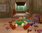 Link's Nap Commission by ladypixelheart