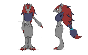 Zoroark Cosplay Ref by Toriroz