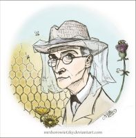 Sherlock Holmes - Bees and flowers by MrsHorowietzky