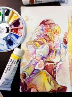 Fan art: Mami Tomoe - Request by Thamtuviet4869