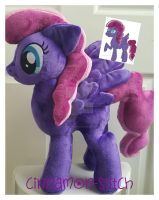 mlp plushie commission Autumn Dusk completed by CINNAMON-STITCH