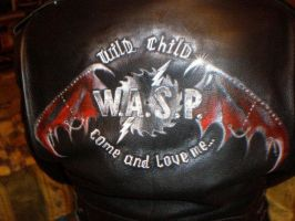 WASPNation Logo Jacket by WASP-Deviations