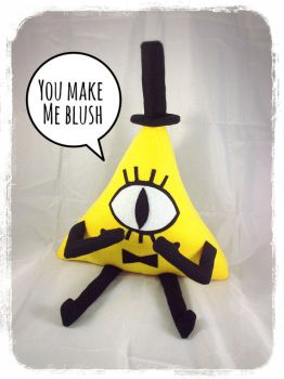 Bill Cipher Plush by Projectnewt