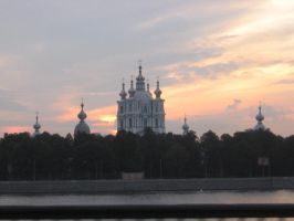 Smolny Cathedral by RitaFromRussia