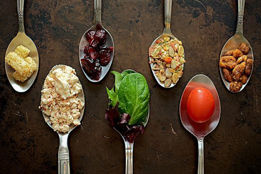 salad, take two: fancy restaurant style by courey
