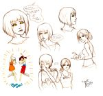 POTaTOS and Chell Sketches by TwinklePowderySnow