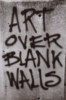Art Over Blank Walls by wwwendycom