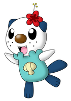 Oasis the Oshawott by Wanda92