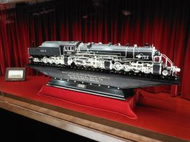 Master Carving of Erie Triplex by SteamRailwayCompany