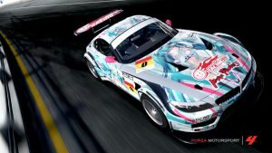 Racing Miku 2012 BMW by xIGetUm