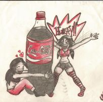 Cola Fangirls by SLYKM