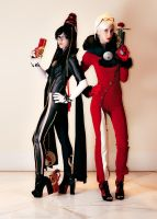 KatsuCon: Gun Witches by burloire